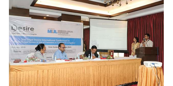 Dr Nitesh Kumar Jha - Presenting in a Conference